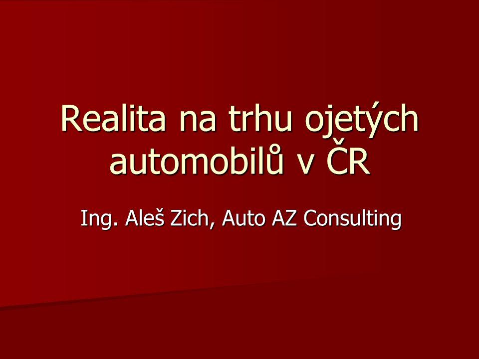 Realita na trhu ojetých automobilů v ČR