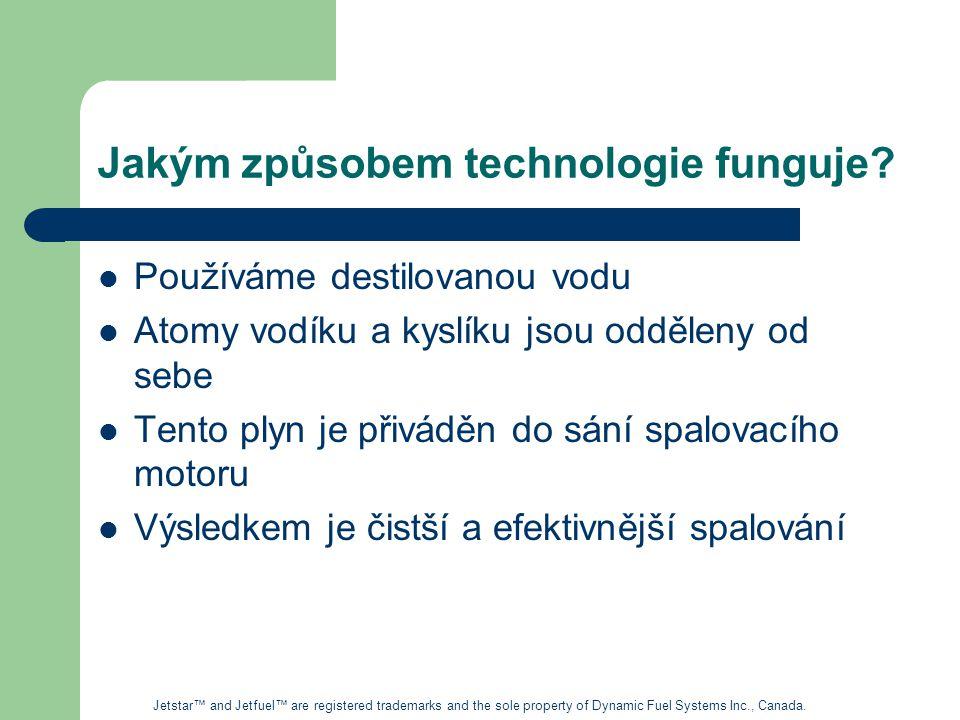 Jakým způsobem technologie funguje