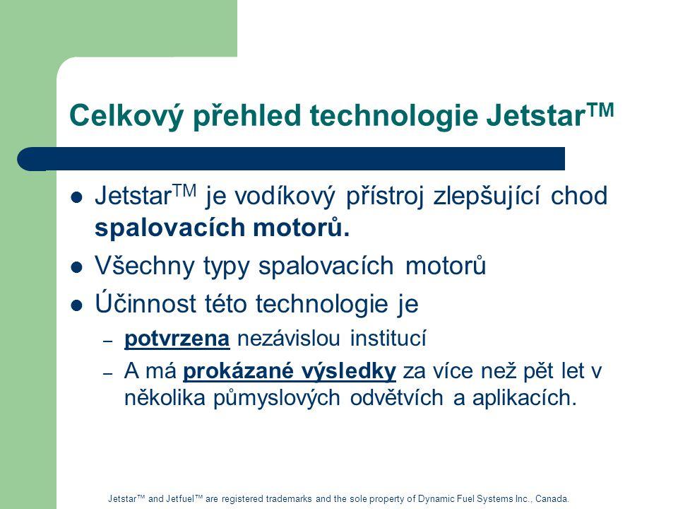 Celkový přehled technologie JetstarTM