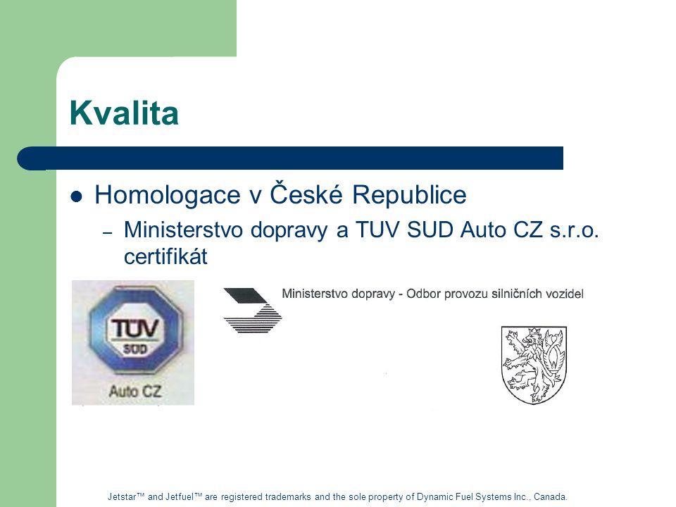 Kvalita Homologace v České Republice