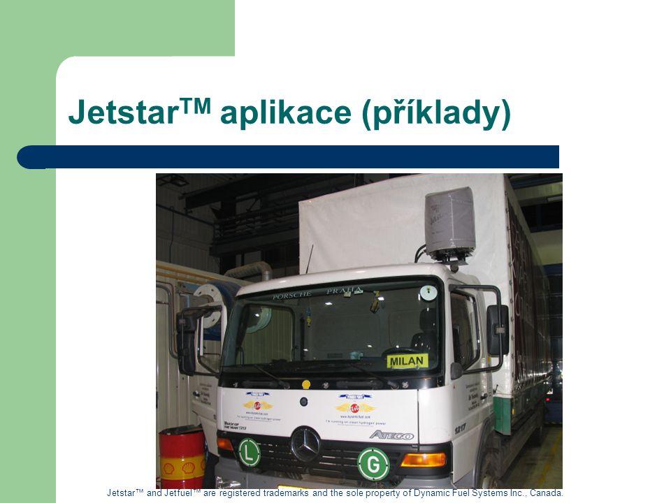 JetstarTM aplikace (příklady)