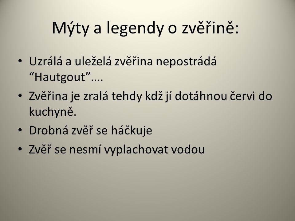 Mýty a legendy o zvěřině: