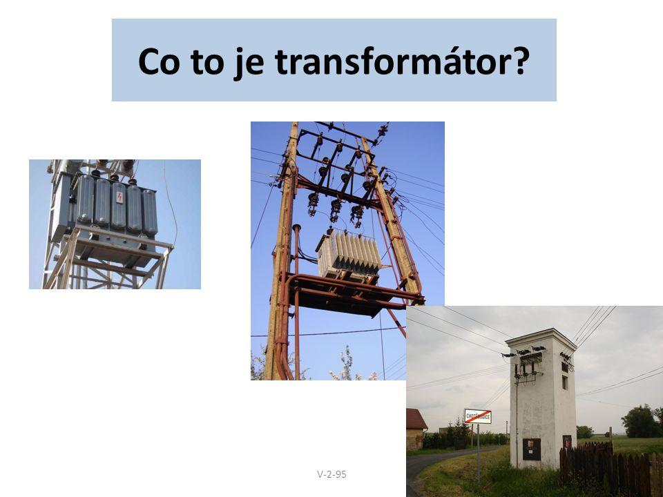 Co to je transformátor V-2-95