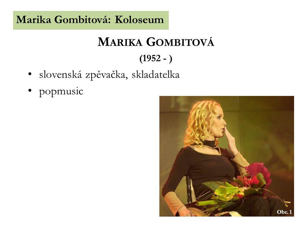 Marika Gombitová Marika Gombitová: Koloseum
