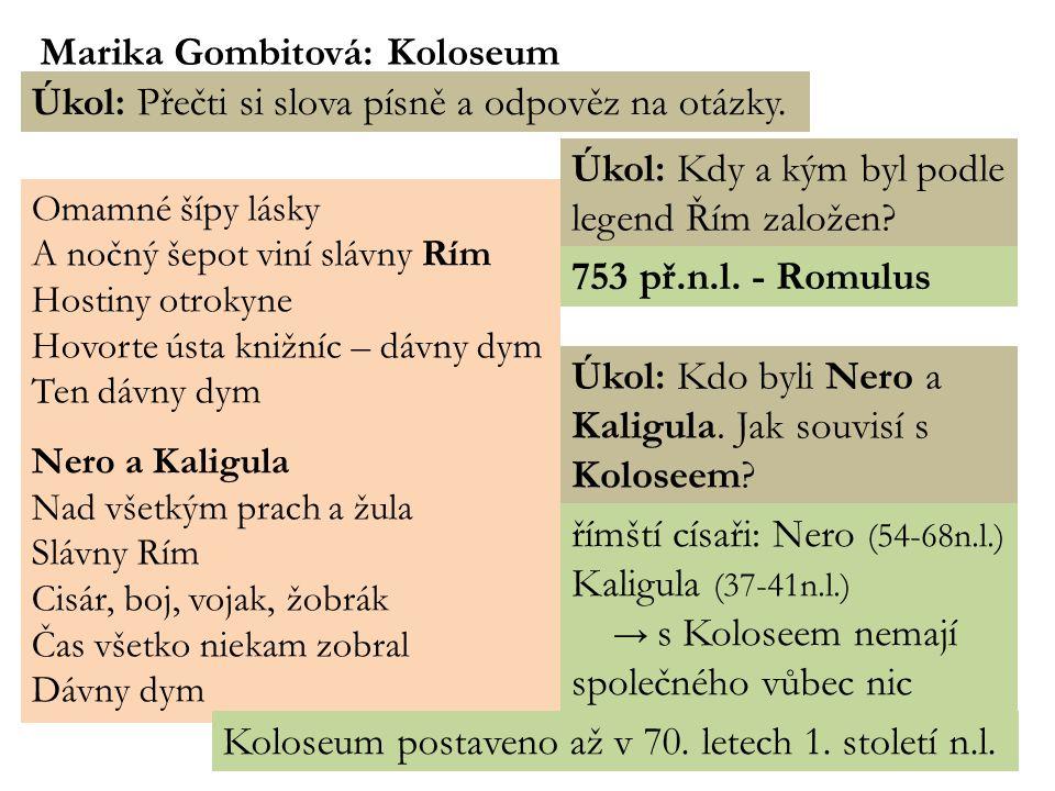 Marika Gombitová: Koloseum