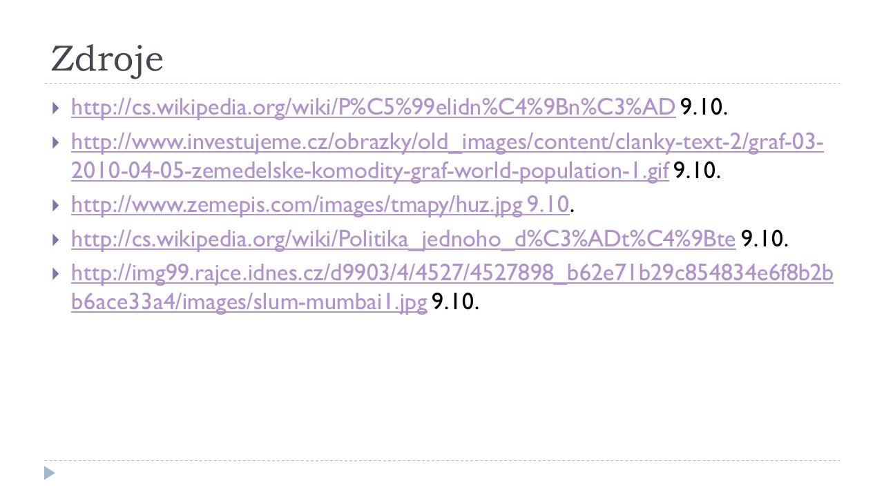 Zdroje http://cs.wikipedia.org/wiki/P%C5%99elidn%C4%9Bn%C3%AD 9.10.