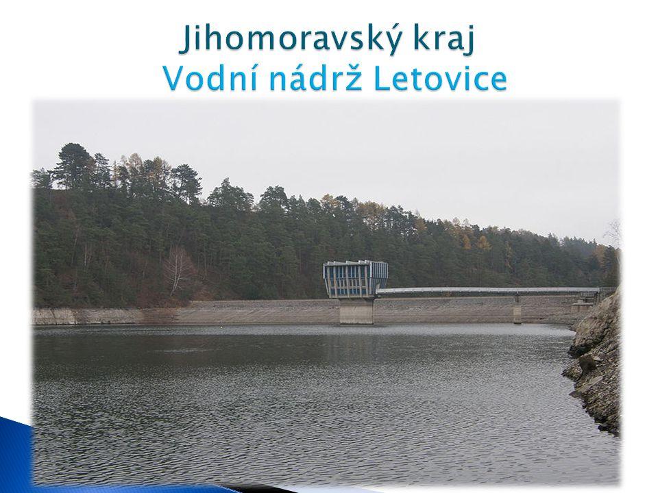 Jihomoravský kraj Vodní nádrž Letovice