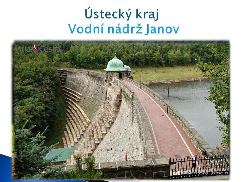Ústecký kraj Vodní nádrž Janov