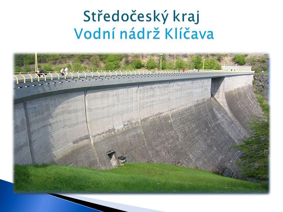Středočeský kraj Vodní nádrž Klíčava