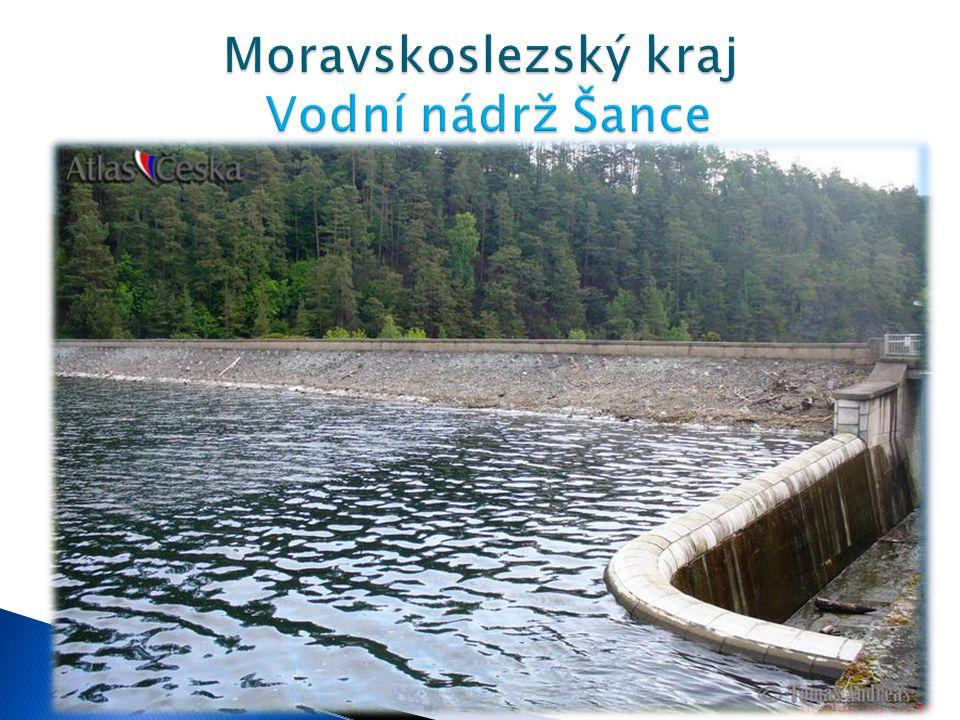 Moravskoslezský kraj Vodní nádrž Šance