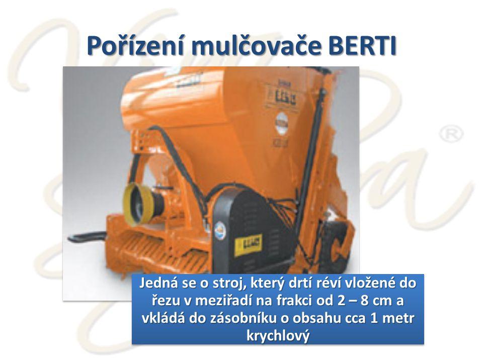 Pořízení mulčovače BERTI