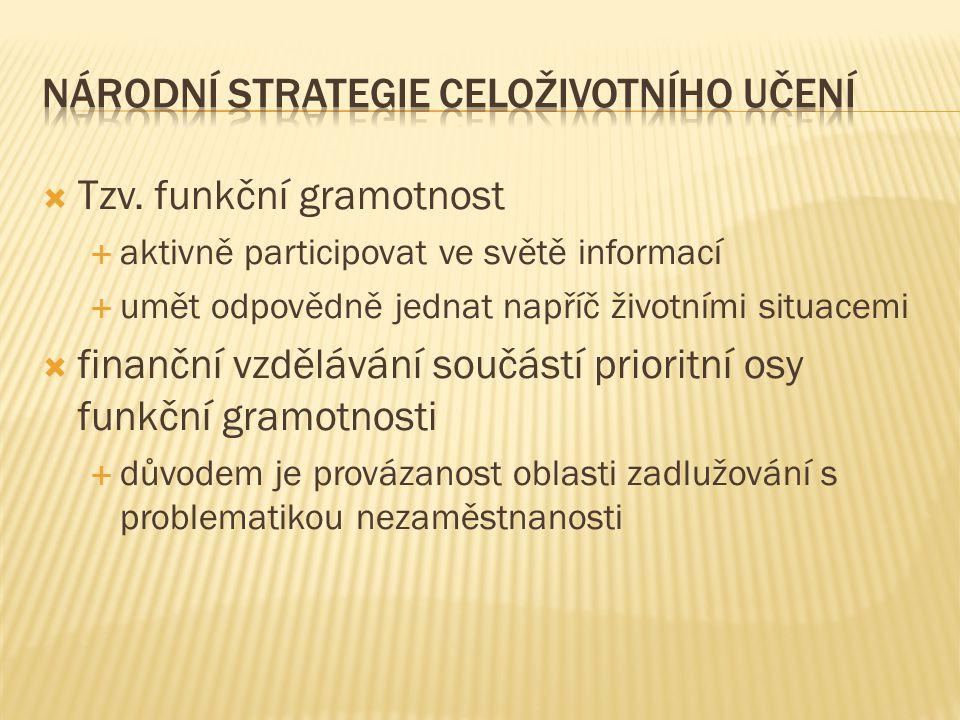Národní strategie celoživotního učení