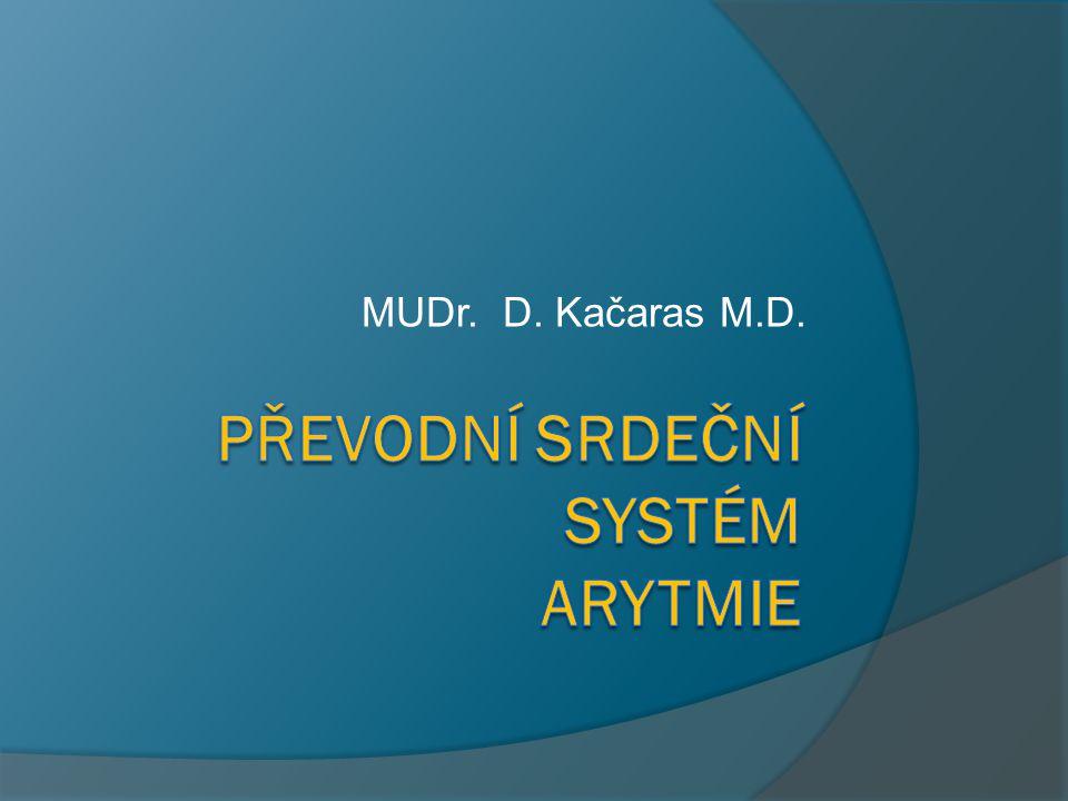 Převodní srdeční systém arytmie