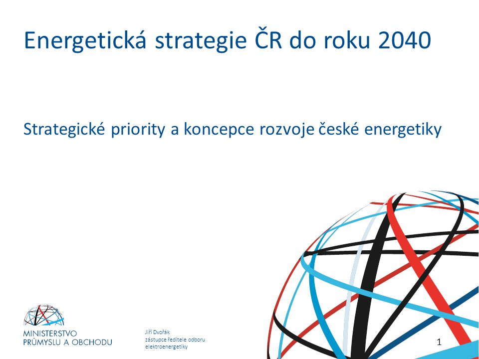 Energetická strategie ČR do roku 2040