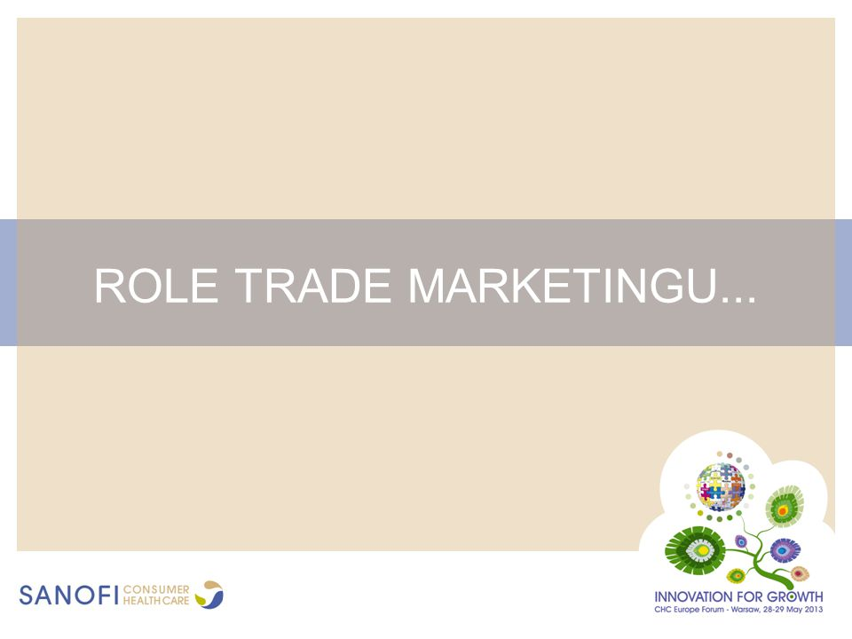 ROLE TRADE MARKETINGU...