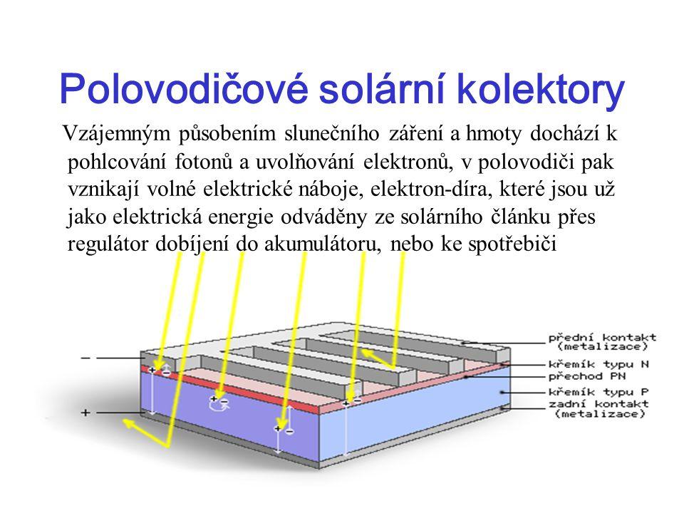 Polovodičové solární kolektory