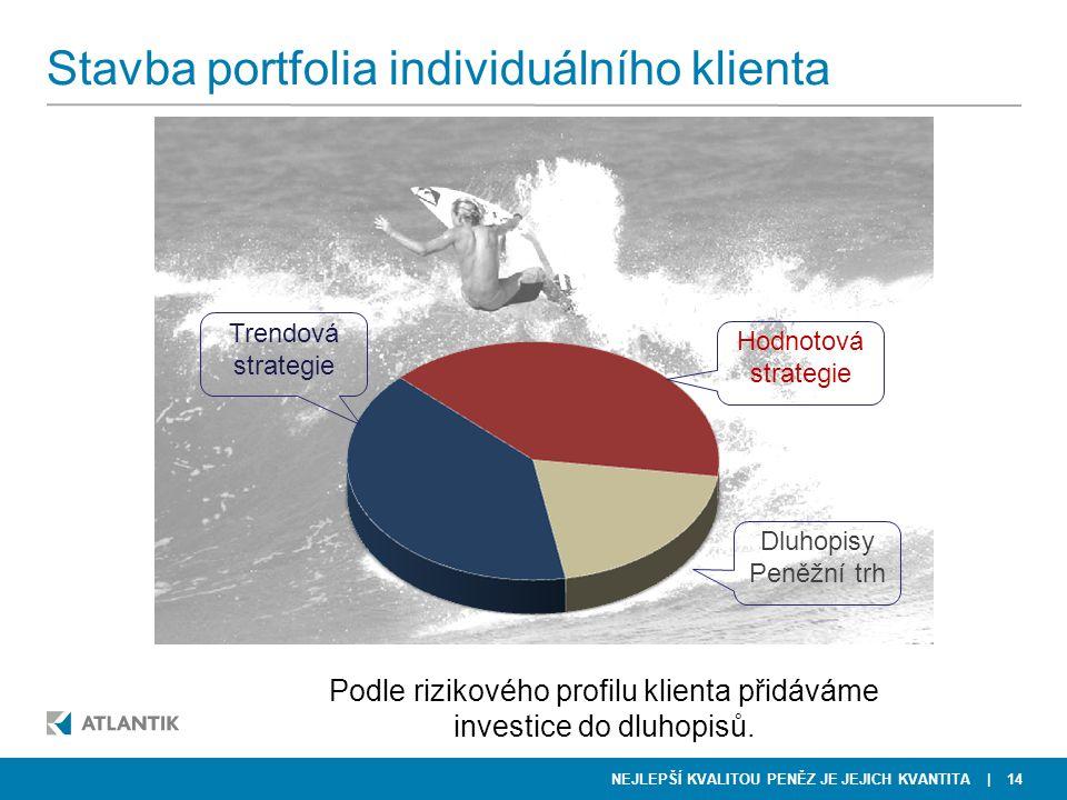 Stavba portfolia individuálního klienta