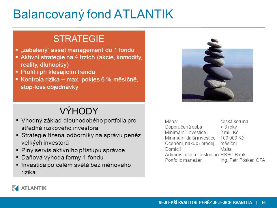 Balancovaný fond ATLANTIK