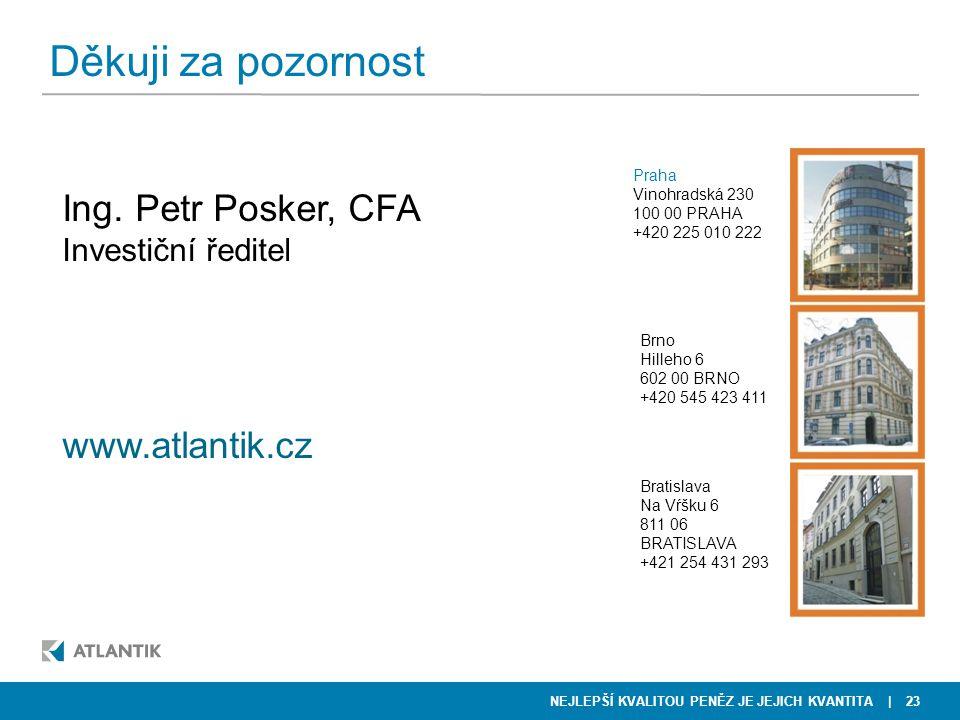Děkuji za pozornost Ing. Petr Posker, CFA www.atlantik.cz