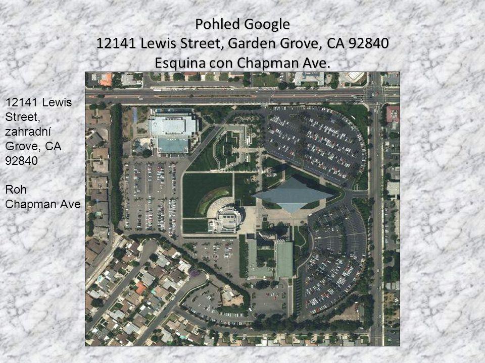 12141 Lewis Street, Garden Grove, CA 92840 Esquina con Chapman Ave.