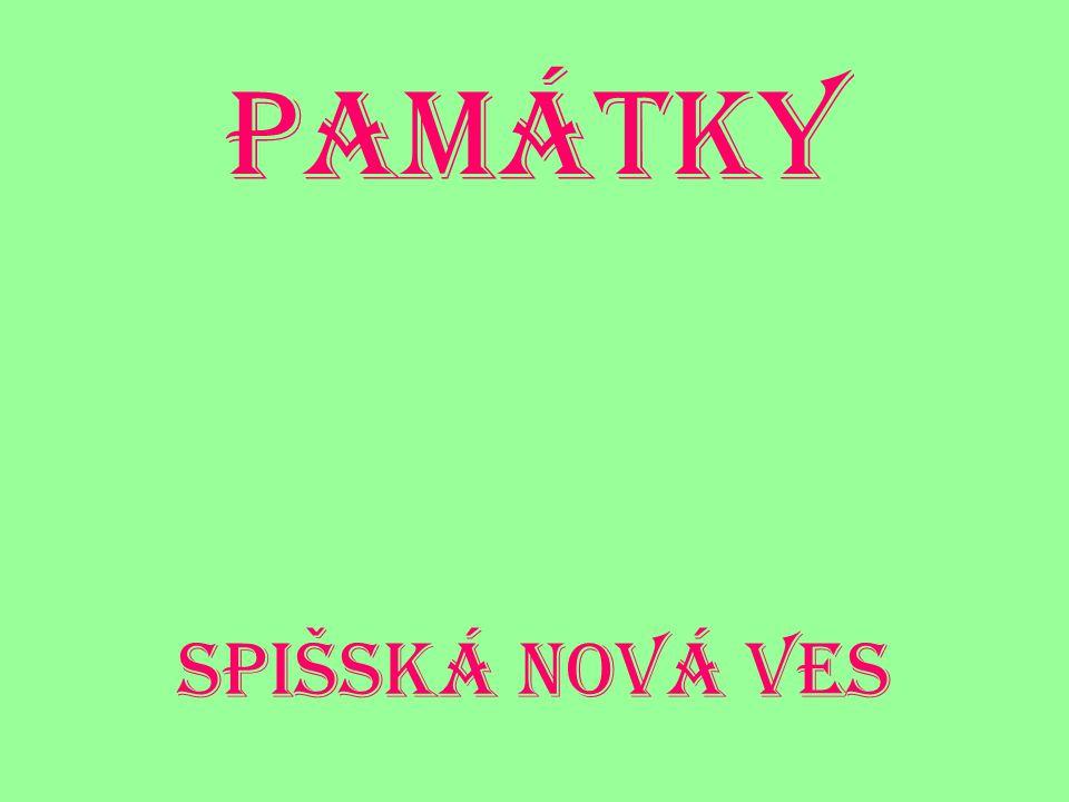 Památky Spišská Nová ves