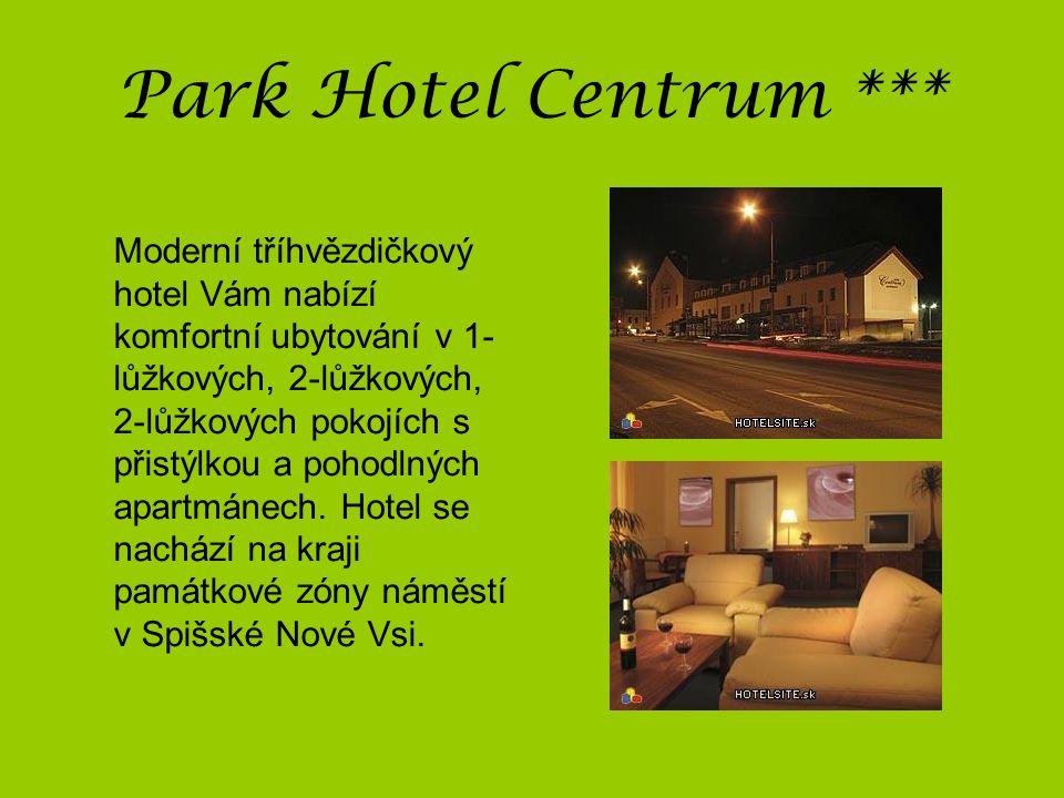 Park Hotel Centrum ***