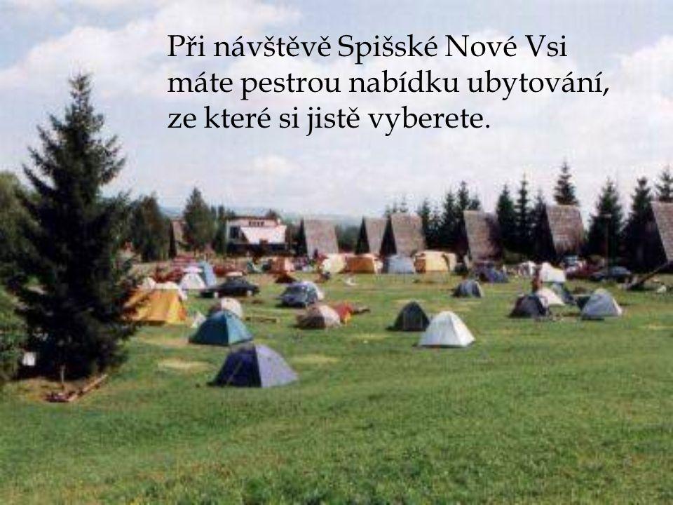 Při návštěvě Spišské Nové Vsi máte pestrou nabídku ubytování, ze které si jistě vyberete.