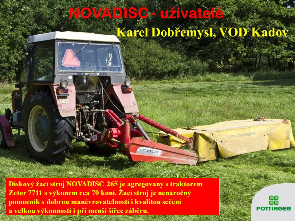 NOVADISC - uživatelé Karel Dobřemysl, VOD Kadov