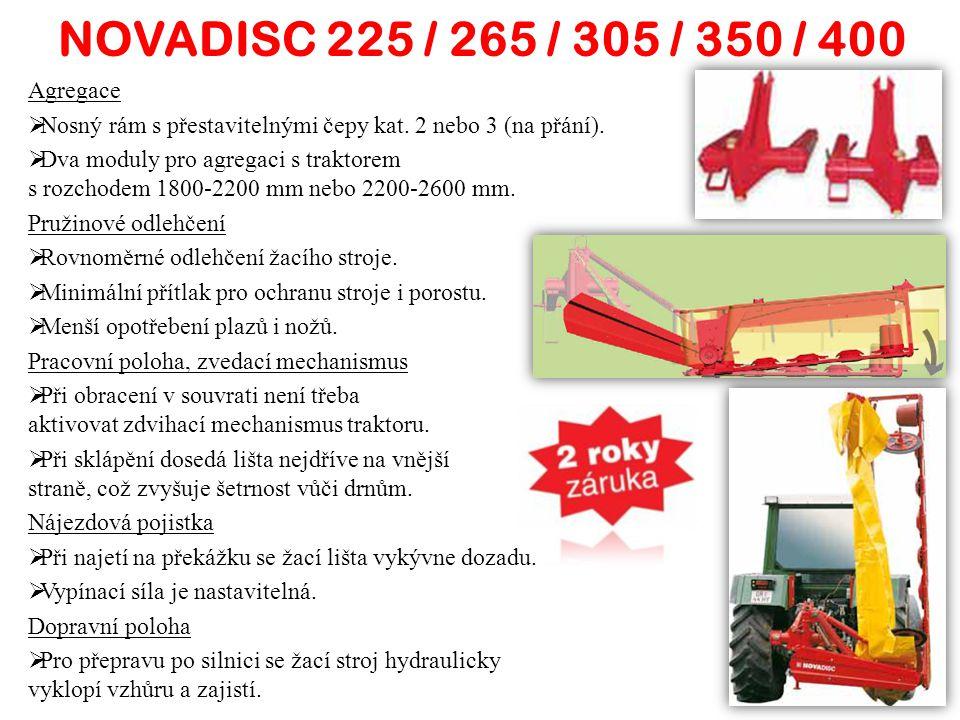 NOVADISC 225 / 265 / 305 / 350 / 400 Agregace