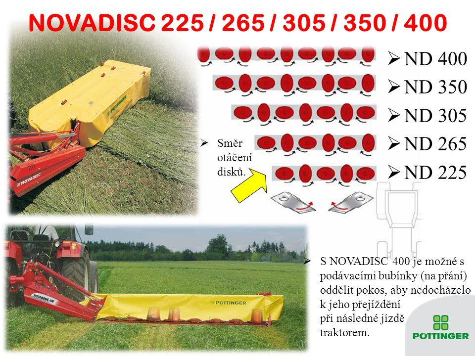 NOVADISC 225 / 265 / 305 / 350 / 400 ND 400 ND 350 ND 305 ND 265