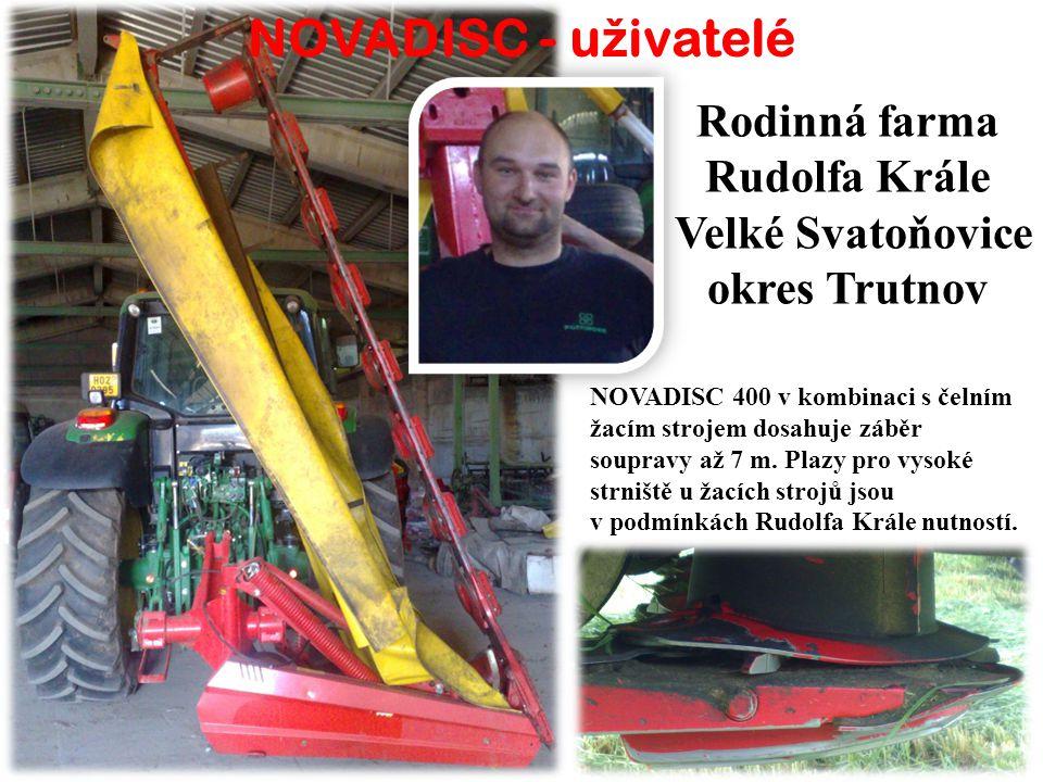 Rodinná farma Rudolfa Krále Velké Svatoňovice okres Trutnov