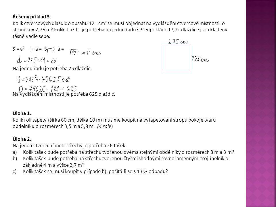 Řešený příklad 3.