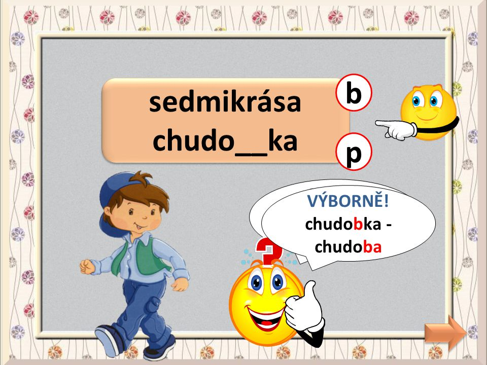 b sedmikrása chudo__ka p