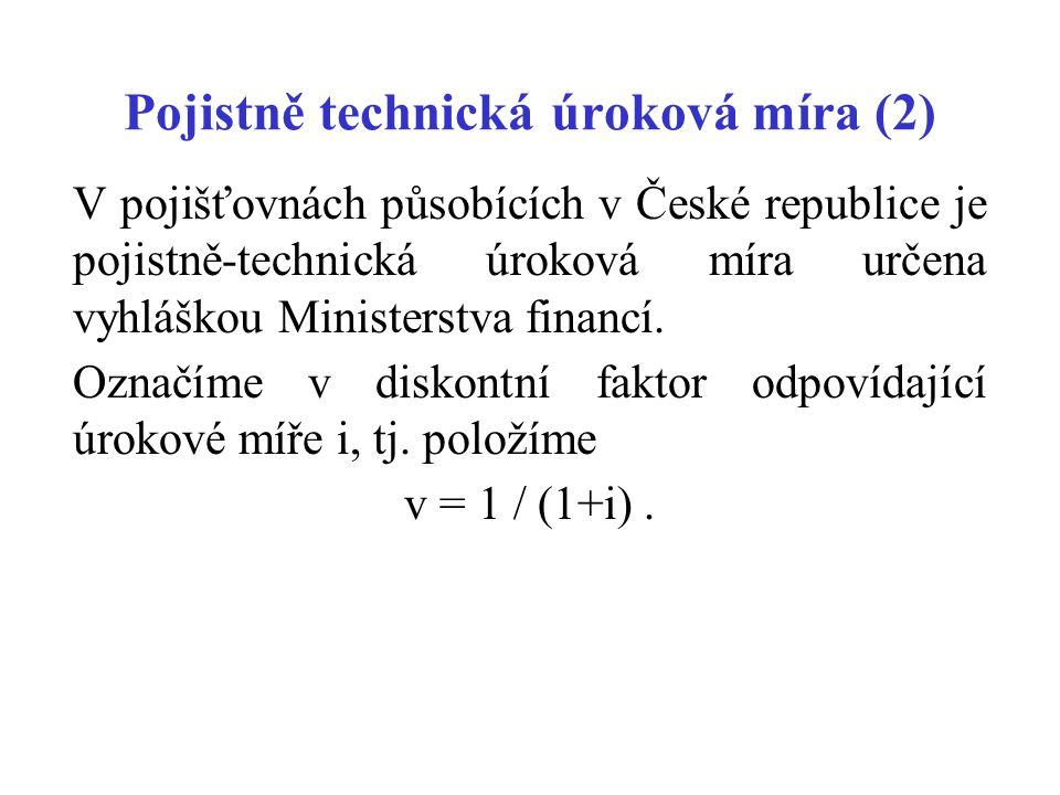 Pojistně technická úroková míra (2)