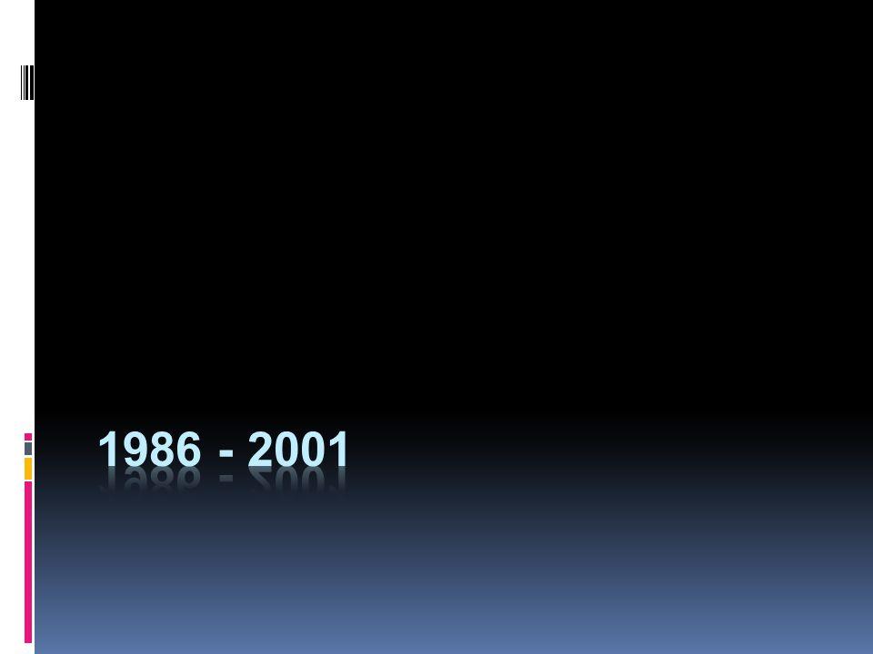 1986 - 2001