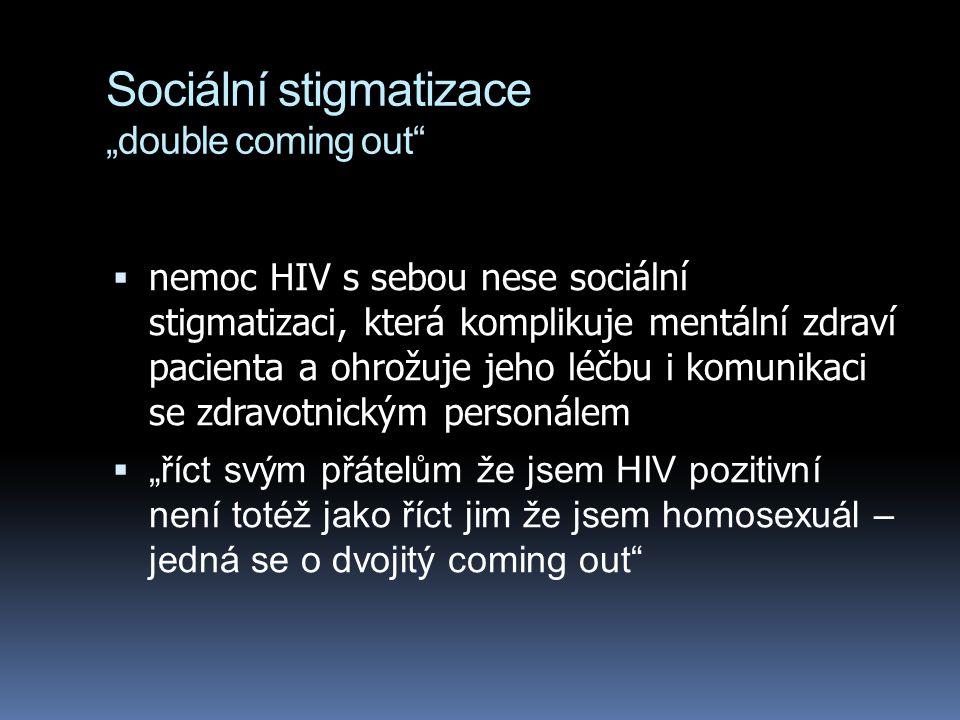 """Sociální stigmatizace """"double coming out"""