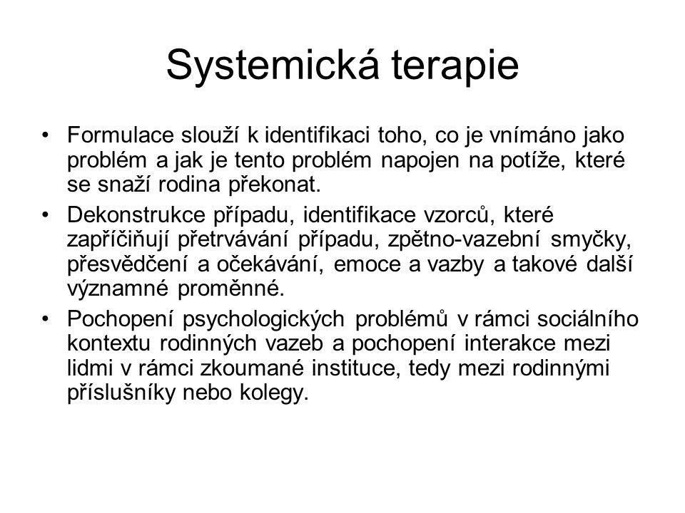 Systemická terapie