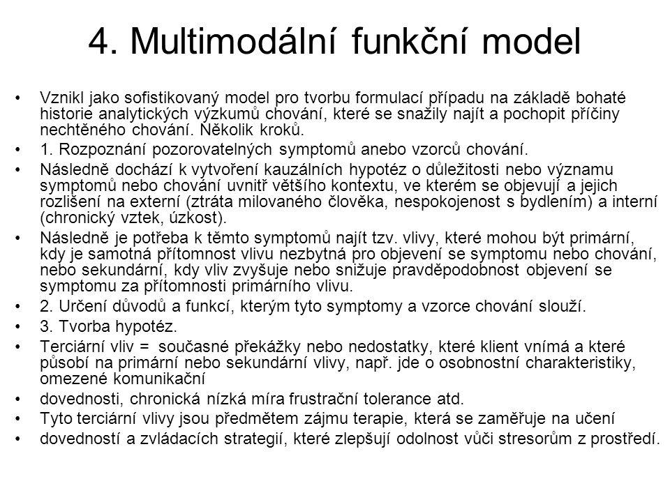 4. Multimodální funkční model