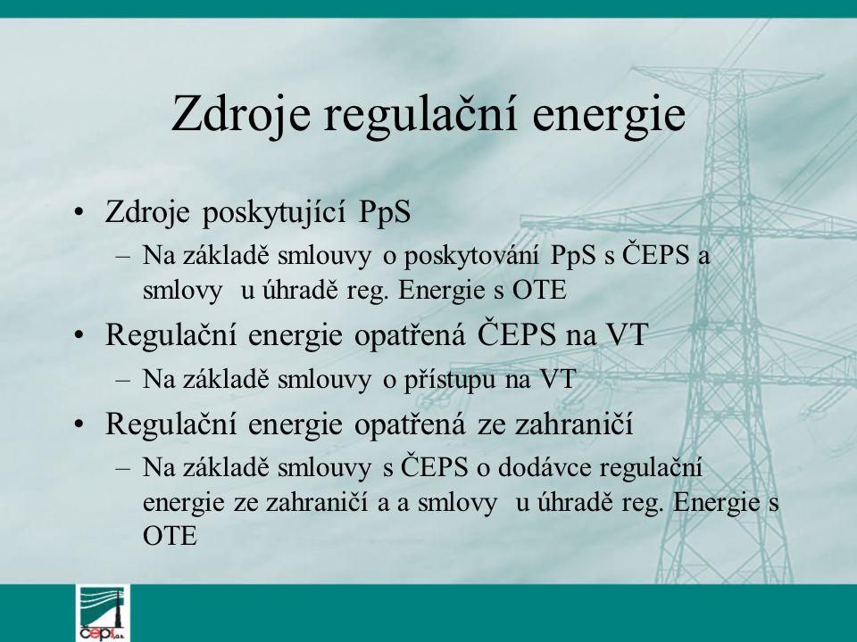 Zdroje regulační energie