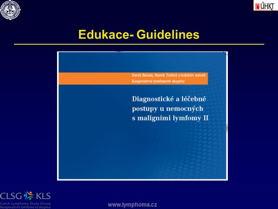 Edukace- Guidelines www.lymphoma.cz
