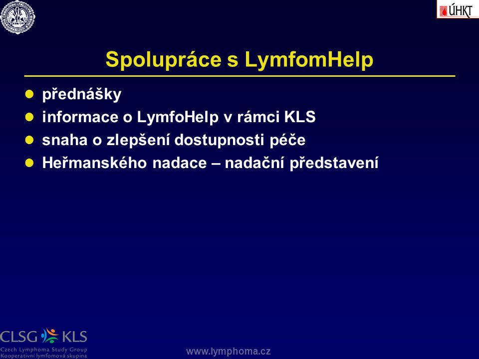 Spolupráce s LymfomHelp