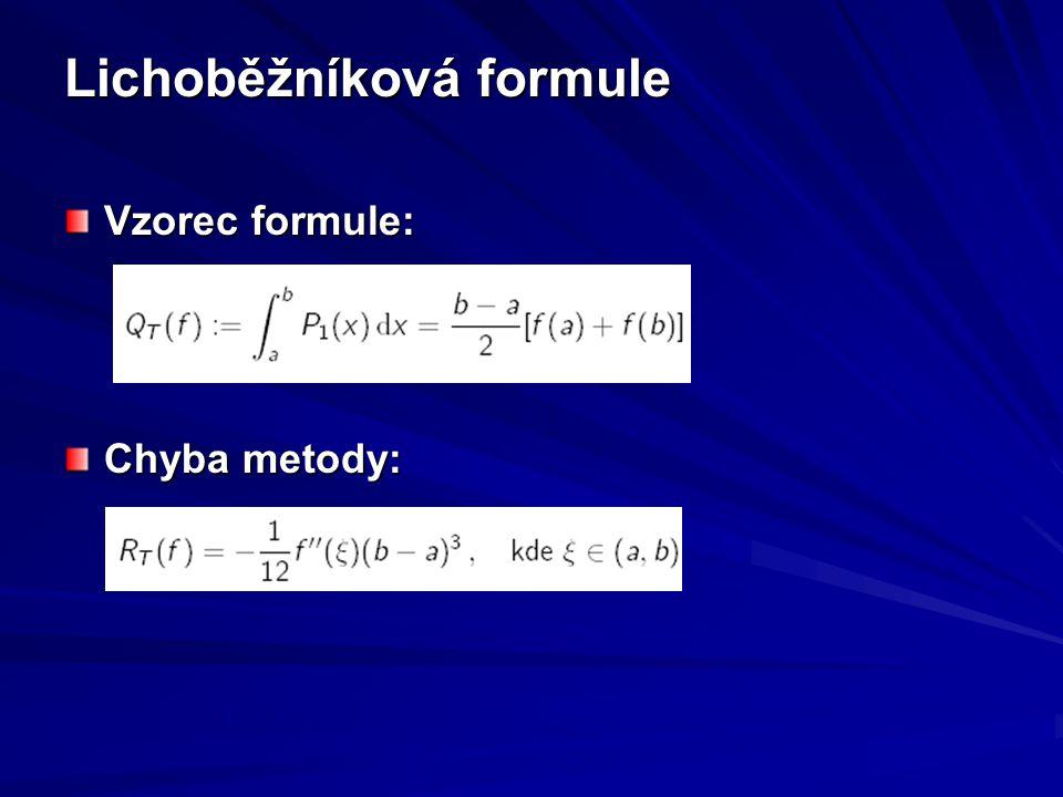 Lichoběžníková formule