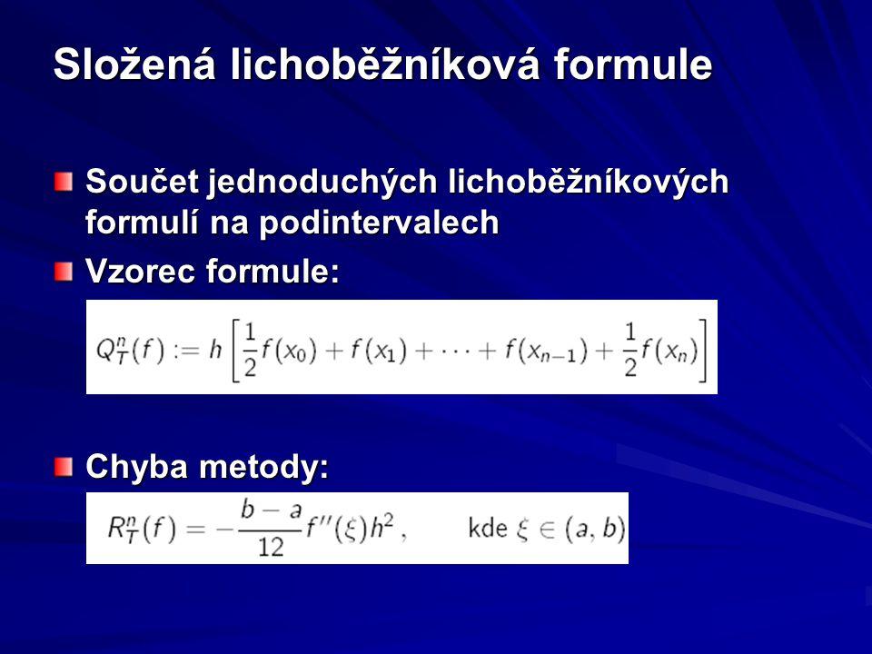 Složená lichoběžníková formule