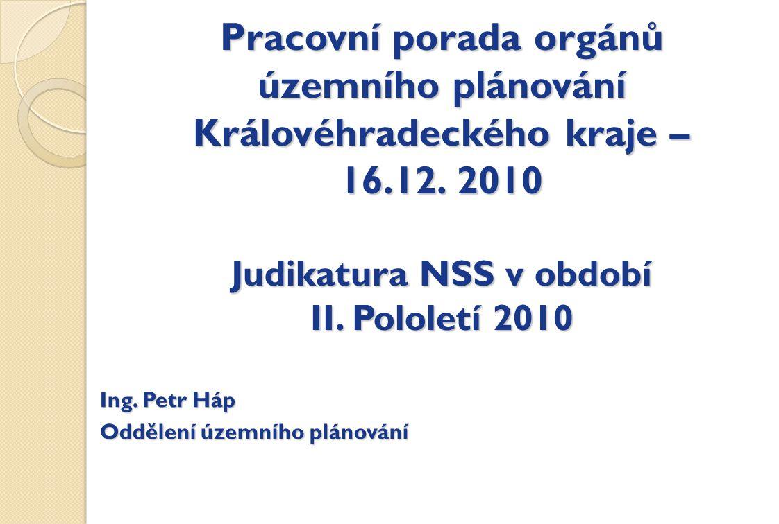 Pracovní porada orgánů územního plánování Královéhradeckého kraje – 16