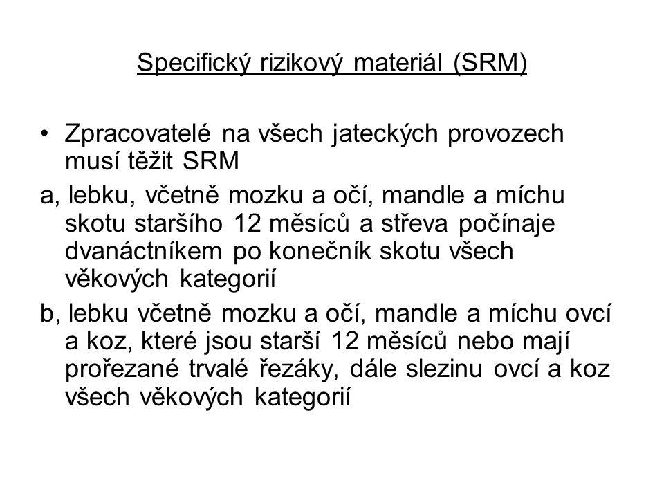 Specifický rizikový materiál (SRM)
