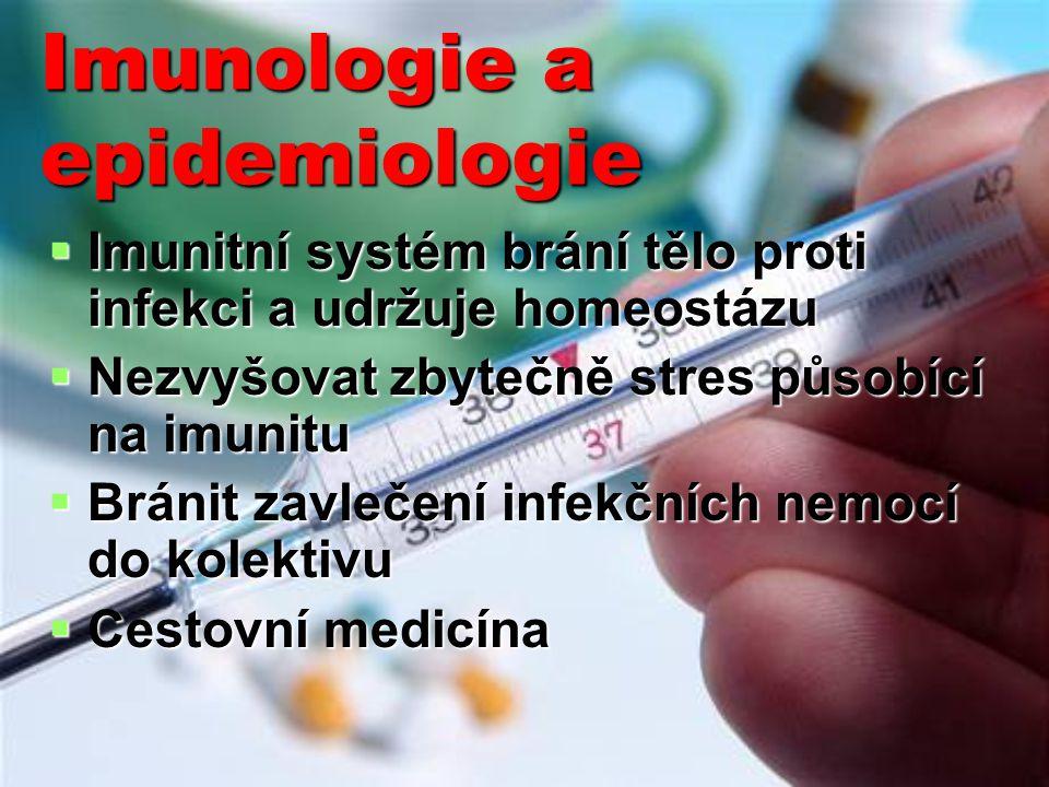 Imunologie a epidemiologie