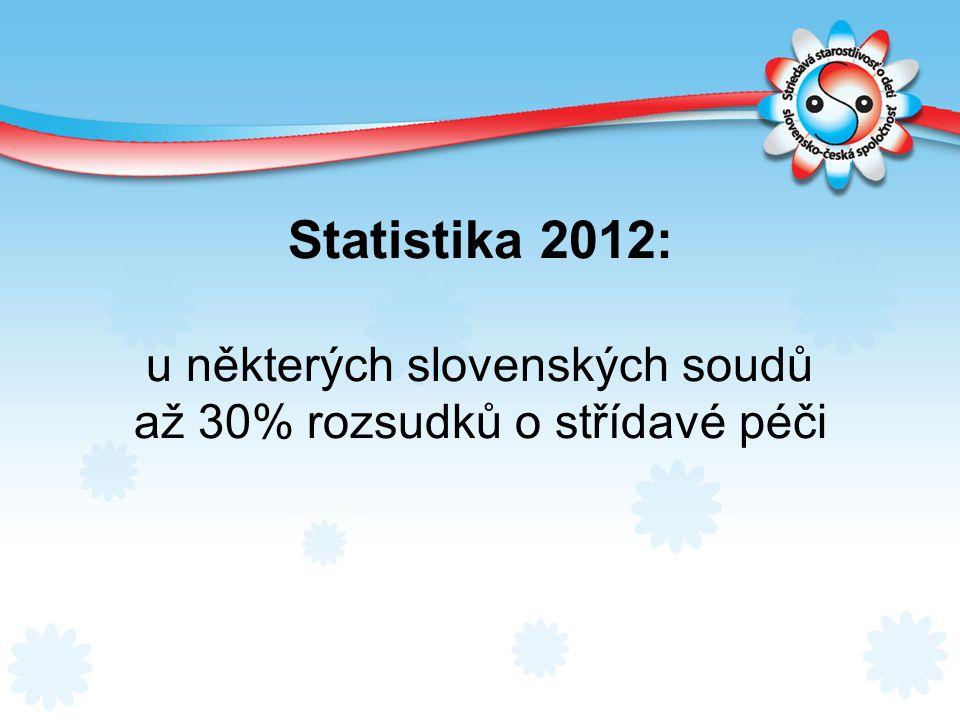 Statistika 2012: u některých slovenských soudů