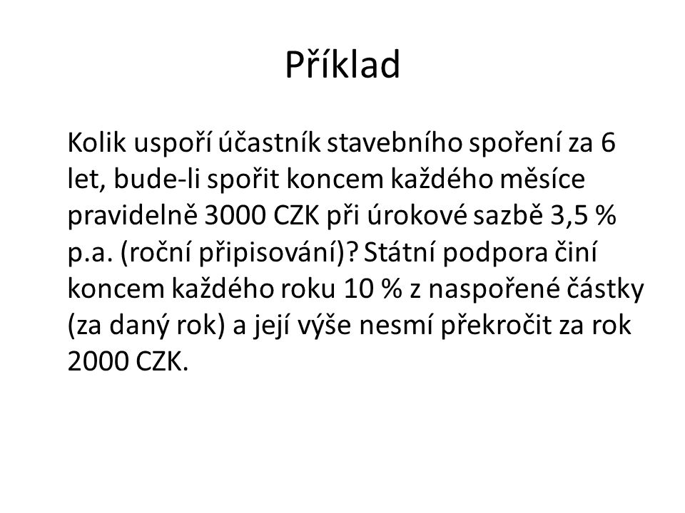 Příklad