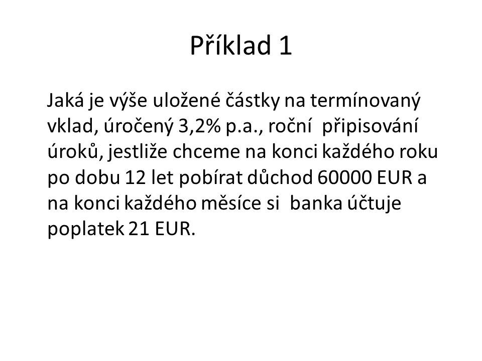Příklad 1