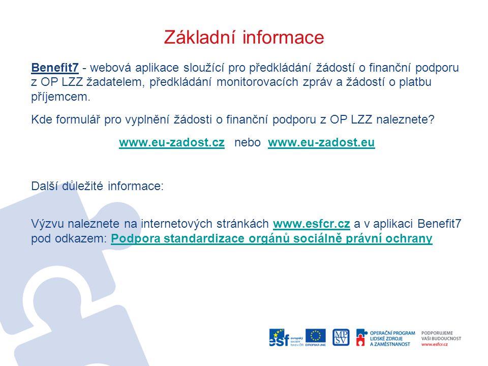 www.eu-zadost.cz nebo www.eu-zadost.eu